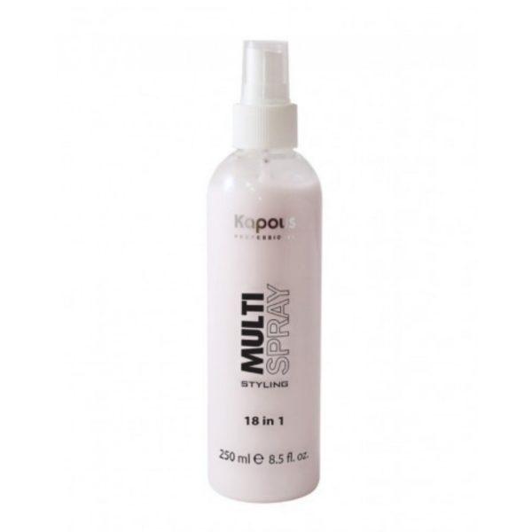 Мультиспрей Kapous для укладки волос 18 в 1