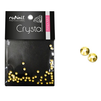 Стразы RuNail Crystal 1,5 мм золотые 50 шт