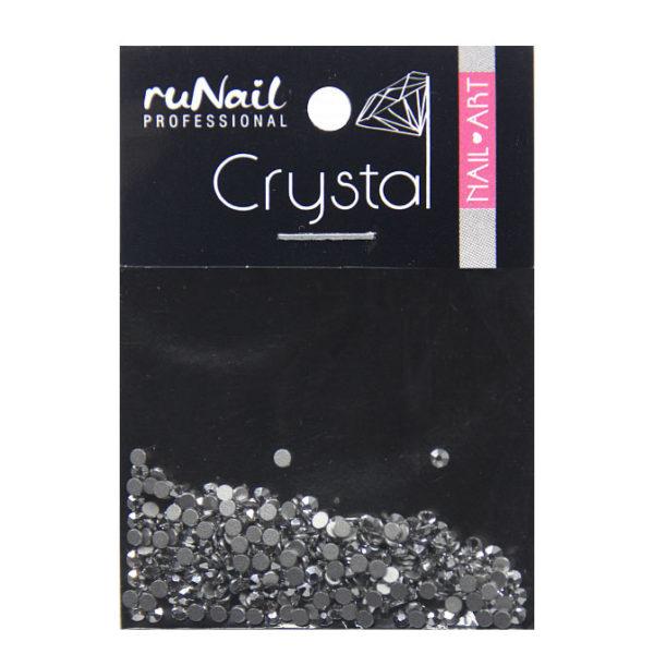 Стразы RuNail серебро 1,5 мм 288 шт